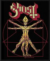 GHOST - THE VITRUVAIN GHOST (NEW) SEW ON PATCH OFFICIAL BAND MERCHANDISE