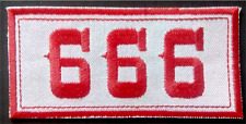 "Hells Angels Support ""666"" Aufnäher Patch  Original 81 Support"