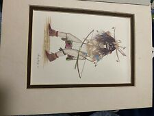 Danny Lanza Lithographs. Kachinas chaveyo. With Certificate of Authenticity