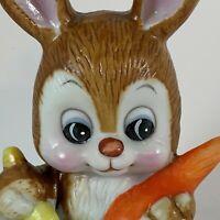 Russ Berrie 1979 Bunny Rabbit Ceramic #1048 Easter Vintage
