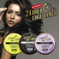 EBIN 24 Hour Edge Tamer - Extra Mega, Ultra Super, Extreme Firm Hold Control Gel