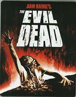 The Evil Dead SteelBook Blu-ray Limited JAPAN NEW DVD EvilDead +EXTRAS s4382
