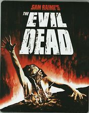 Evil Dead SteelBook Blu-ray Limited JAPAN NEW DVD Evil Dead +EXTRAS s4382