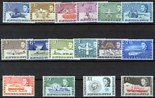 BRITISH ANTARCTIC TERRITORY 1963-69 DEFINITIVES SG1/15a MNH