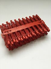 Red wall plugs 6mm FISCHER high quality 200pcs  brick. Concrete masonry