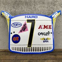Old School BMX Haro Series 1B Number Plate - Original 80s