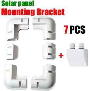 Solar Panel Corner Mounting Brackets Kit Caravan Boat RV Vehicle Roof Mount-7PCS
