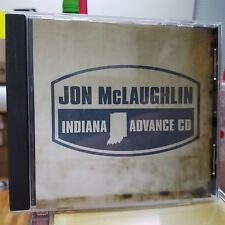 JON MCLAUGHLIN - Indiana - 13 Track ADVANCE PROMO CD! RARE! Island ISLF 16659-2