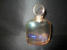 ancien flacon à parfum modèle de luxe en cristal parfum DEMI-JOUR Houbigant 1987