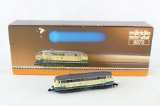 8878 Locomotive diesel BR 218 Märklin mini club emballage d'origine +TOP+