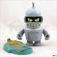 Kidrobot Futurama series 1 Bender 3-inch vinyl figure - displayed