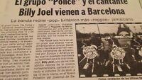 Police.. Venen A Barcelona.