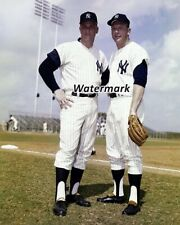MLB New York Yankees Roger Maris Mickey Mantle Color 8 X 10 Photo Picture