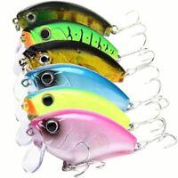 5PCS Wobbler Crankbait Fishing Lures Trolling VIB Hard Bait 0.6oz Fishing Tackle