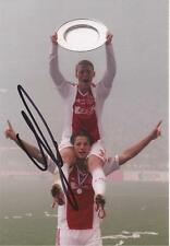 AJAX: VIKTOR FISCHER SIGNED 6x4 TROPHY CELEBRATION PHOTO+COA