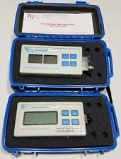 TTI FPM250 Optical Power Meter FLS1350 Dual Fiber Optic Laser Source 1310/1550nm