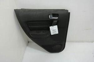 2007 2008 2009 2010 HUMMER H3 LH Left Rear Driver Door Panel Black Leather