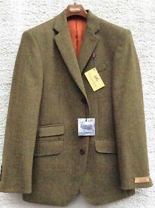Gurteen Menswear 3 button Tweed Jacket - Many Sizes - BNWT