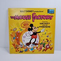 Walt Disney The Mouse Factory - Mickey and Friends LP Record Album  1972 DQ 1342