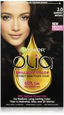 Garnier Olia Oil Powered Permanent Hair Color 3.0 Darkest Brown
