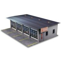 "Innovative Hobby ""4 Stall Pit Garage"" 1/32 Slot Car Scale Photo Building Kit"