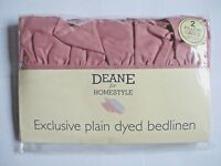 12 Colours Luxurious Easy Care Pair (2) TWO FRILLED Pillow Cases / Pillowcases.