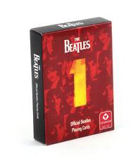 THE BEATLES no. 1 Apple Records Archive UFFICIALE CARTE DA GIOCO