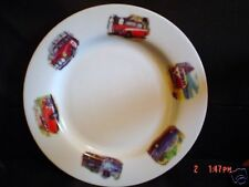 Norfolk China CLASSIC CAR 10 1/2 INCH Dinner Plate