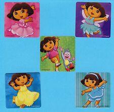 10 Playful Dora the Explorer - Large Stickers - Party Favors