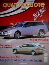 Quattroruote 534 2000 Mercedes C, 156 Sportwagon. Al volante Toyota MR2 [Q.64]