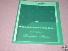MARANTZ MODEL 2226B STEREO RECEIVER SERVICE MANUAL