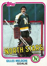 (HCW) 1981-82 Topps #W109 Gilles Meloche NM-MT North Stars