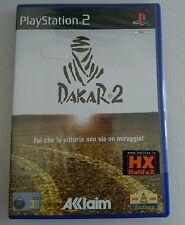 DAKAR 2 PS2 PLAYSTATION 2 NUOVO SIGILLATO ITALIANO CN CHELOPAN DANNEGGIATO NUOVO
