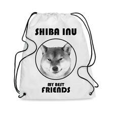 Borsa Sacca cane SHIBA INU MY BEST FRIEND