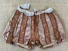 Mens Elizabethan Renaissance Shakespearean Nutcracker Doublet Pantaloons Shorts