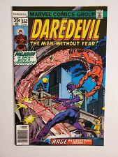 DAREDEVIL #152 (VF/NM) 1978 PALADIN COVER & APPEARANCE; BRONZE AGE MARVEL