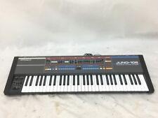 Roland Juno 106 Analog Synthesizer  Keyboard 61 key perfect working Black Analog