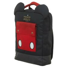Disney's Mickey Mouse 3D Ears Backpack - Red and Black Book Bag - Lap Top Holder