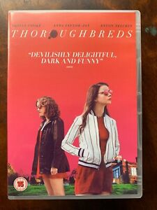 Thoroughbreds DVD 2018 Teen Movie Drama w/ Anna Taylor-Joy and Olivia Cooke