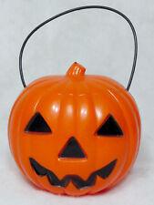 Vintage Union Plastics 1950's Jack O Lantern Pumpkin Halloween