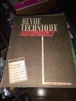 REVUE TECHNIQUE AUTOMOBILE N° 105 - CAMION DIAMOND T TYPES 980-981 1955