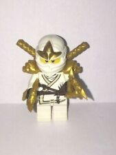 LEGO GENUINE Ninjago Minifigure Zane ZX NO Swords REF994