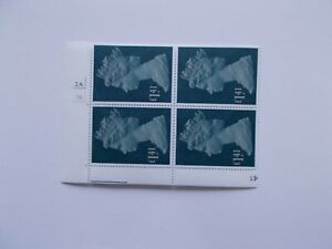 1977 £1.41 Machin High Value in Cylinder Block of 4 (Cyl 2A3B no dot) APS Perf