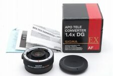 【Mint in BOX】Sigma APO Tele Converter EX DG 1.4x (CANON EF) from Japan 126