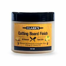 CLARK'S Cutting Board (Butcher Block) Finish, Wax - 10oz | FREE Shipping