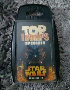 Star Wars Episodes I-III Top Trumps Specials