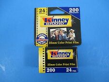 Kinney Brand 35MM Color Print Film ISO 200 24 Exposure Untested Exp 1/02 VS14