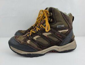 L L Bean 258495 Mens Trail Model Hiker II Tek 2.5 Waterproof Boots Size 8 Brown