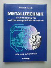 3 Bücher Facharbeiter Metalltechnik Grundbildung kraftfahrzeugtechnische Berufe