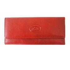 Leather 4 Ring Key Case Tony Perotti Italian Leather Red TP-0344